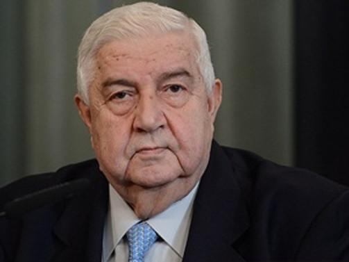 Suriye Dışişleri Bakanı Muallim yoğun bakımda