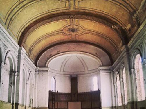 Tarihi kilise, sanat merkezi oldu
