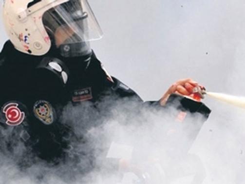 KMO: Biber gazı yasaklansın