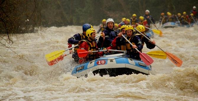 Rafting sezonu açıldı