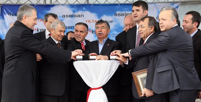 Kızılötesi optik tesisinin  temelleri Sivas'ta atıldı