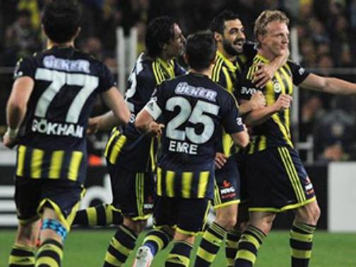 Fenerbahçe'nin zirve keyfi