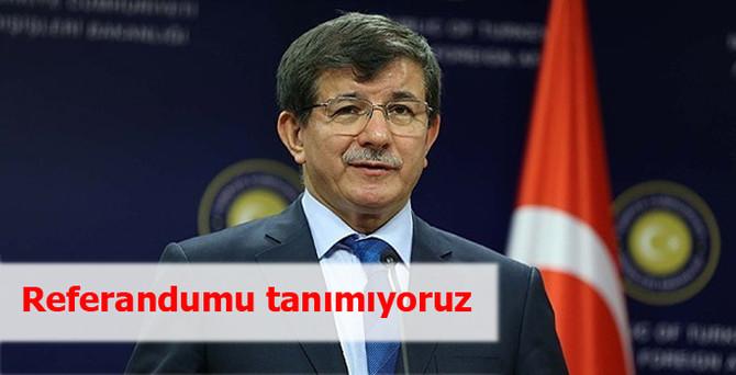 """""""Kırım'daki referandumu tanımıyoruz"""""""