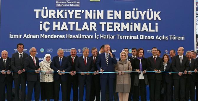 Türkiye'nin en büyük iç hatlar terminali açıldı