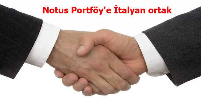 Notus Portföy'e İtalyan ortak