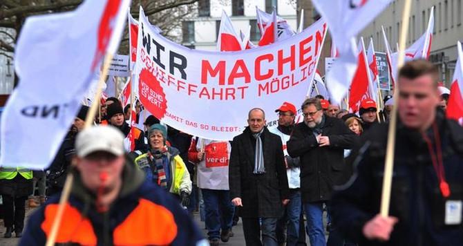 Almanya'da grev günü