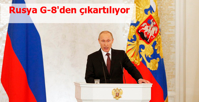 Rusya G-8'den çıkartılıyor