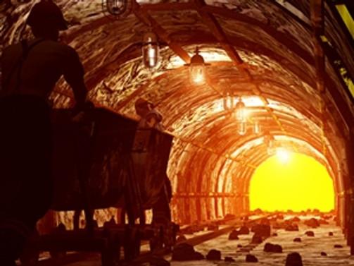 Çin'de kömür madenini su bastı