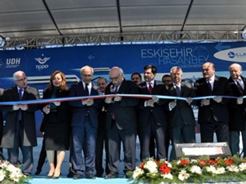 Hasanbey Lojistik Merkezi açıldı