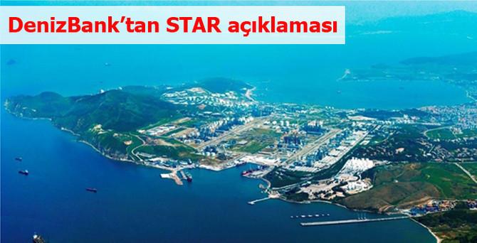 DenizBank'tan STAR açıklaması