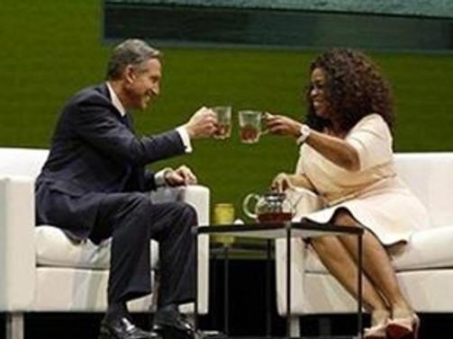 Oprah Winfrey çaycı olacak