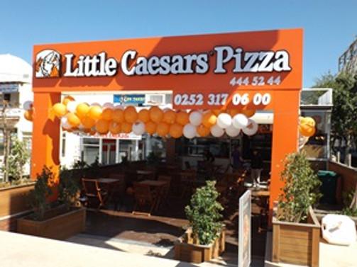 Little Caesars, yeni şubesini Bodrum'da açtı