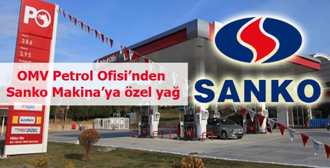 OMV Petrol Ofisi'nden Sanko Makina'ya özel yağ