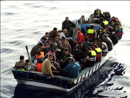 2013'te 8 bini aşkın mülteci yakalandı