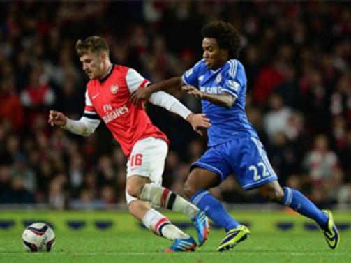 Chelsea, Arsenal'i ezdi