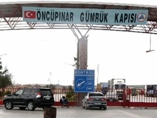 Öncüpınar'da ihracat işlemleri 23.00'a kadar uzatıldı