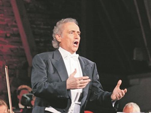 Efsanevi tenorla büyük buluşma