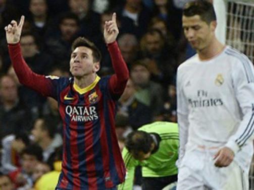 El Clasico'ya Messi damgası
