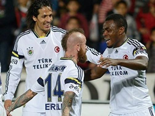Fenerbahçe tek golle geçti