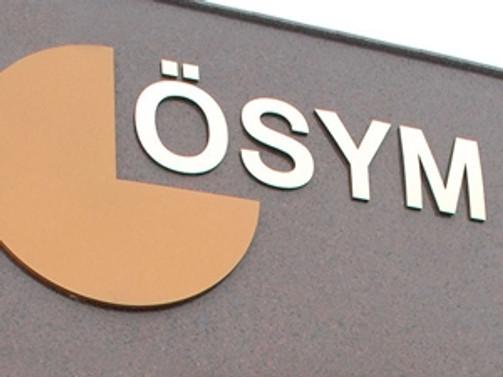 ÖSYM'nin 2015 sınav takvimi açıklandı