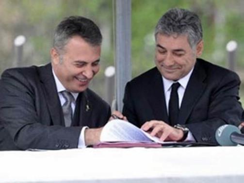 Beşiktaş'a yeni tesis için imzalar atıldı
