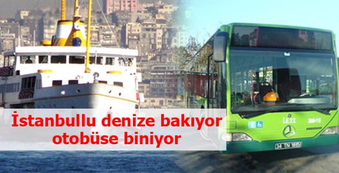 İstanbullu denize uzaktan bakıyor