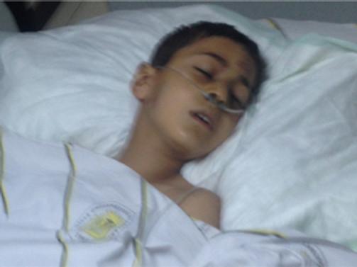 Gaz kapsülü yine çocuk yaraladı