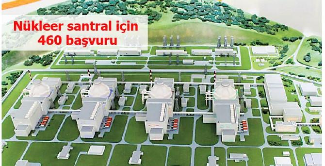 Nükleer santralde yerli katkı için 460 şirket başvurdu