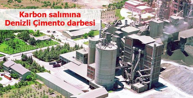 Denizli Çimento'dan karbon salımına darbe