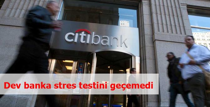 Dev banka stres testini geçemedi