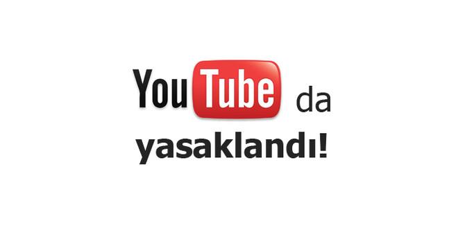 Twitter'dan sonra Youtube da kapatıldı!
