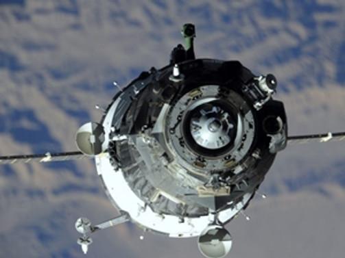 Rus Soyuz'u UUİ'ye kenetlendi