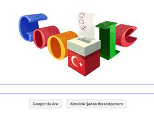 Google'dan yerel seçimler için doodle