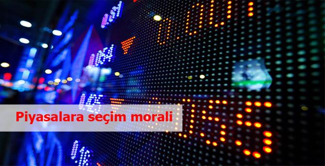 Piyasalara seçim morali