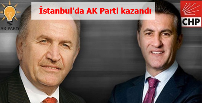 İstanbul İl Seçim Kurulu sonuçları açıkladı