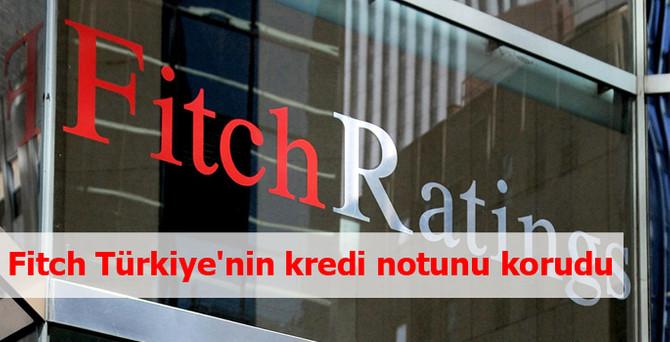 Fitch, Türkiye'nin kredi notunu korudu