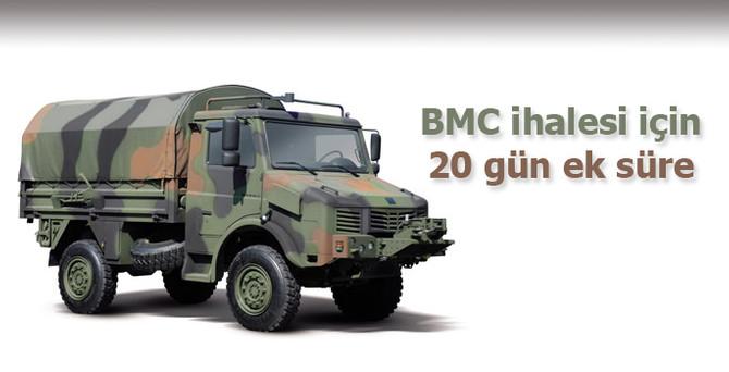 BMC ihalesi için 20 gün süre daha