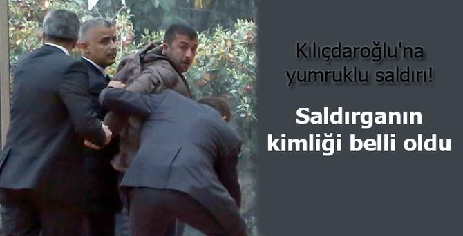 Kılıçdaroğlu'na yumruklu saldırı!