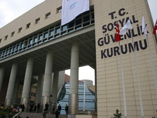 SGK'nın beş aylık geliri 74 milyarı buldu