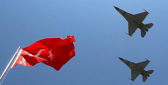 Suriye sınırında F-16'lar havalandı