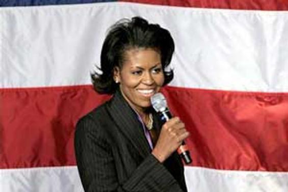 En güçlü kadın Michelle Obama