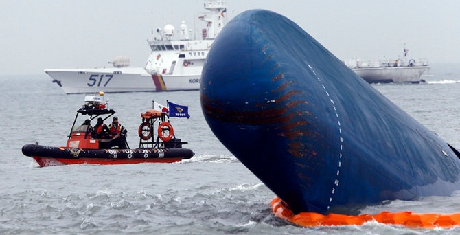 Güney Kore'deki feribot kazasında ölü sayısı artıyor