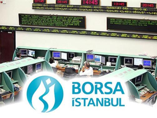 Borsa ilk yarıda yüzde 0.63 değer kazandı