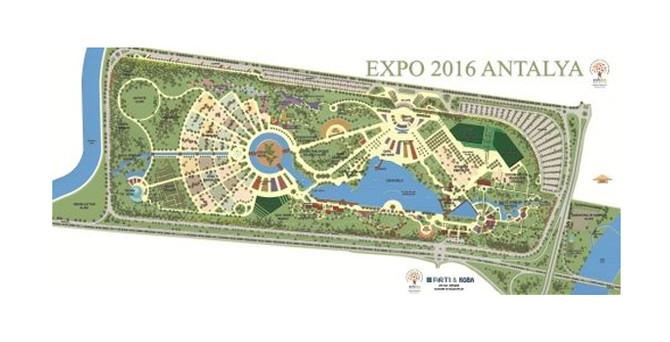 EXPO'ya 187 ülke davet edildi, 38'inden cevap geldi