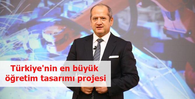 Türkiye'nin en büyük öğretim tasarımı projesi
