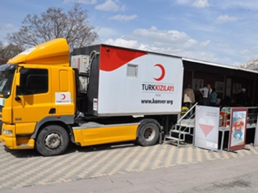 Kızılay'dan Türkmenler'e yardım