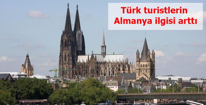 Türk turistlerin Almanya ilgisi arttı