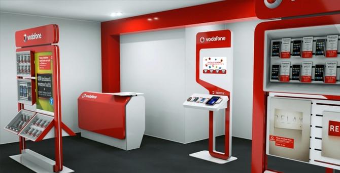 Vodafone'dan 1.6 milyar lira servis geliri