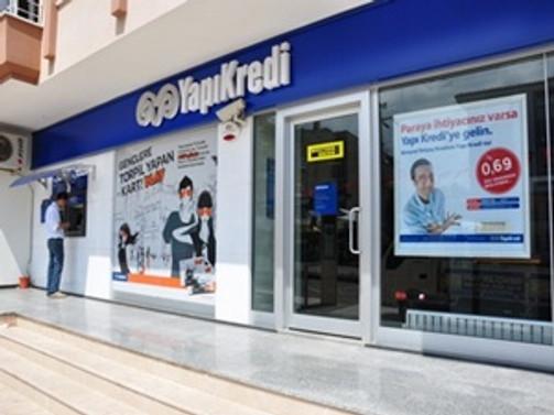 Yapı Kredi'nin net kârı 929 milyon lira