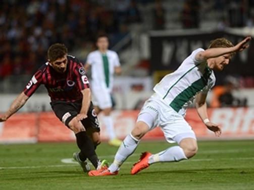 Gençlerbirliği Bursaspor'u tek golle geçti